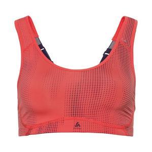 High Flex Sports Bra - hot coral AOP