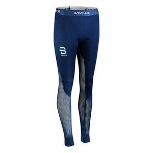 Airnet Wool Pants Women - estate blue