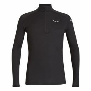 Sennes Dry'Ton Long Sleeved Half-Zip Shirt - black out