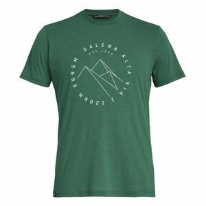 Alta Via Dry-Release Short Sleeved T-Shirt - myrtle melange