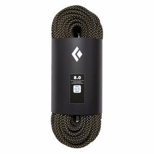 8.0 Rope Static 65m - black