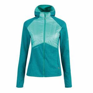 Aconcagua Light Hybrid Midlayer Hooded Jacket Women - dark ceramic/ceramic