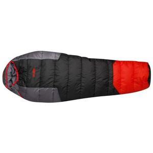 Schlafsack Sherpa rechts - black-red-grey