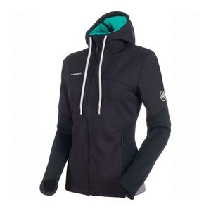 Alnasca ML Hooded Jacket Women - black/atoll
