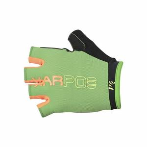 Rapid 1/2 Fingers Glove - apple green/orange fluo