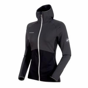 Botnica Light ML Hooded Jacket Women - phantom black/marble