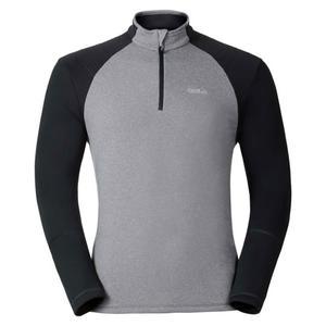 Pact Midlayer 1/2 Zip Pullover - grey melange - odlo graphite grey