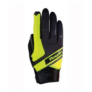 Lidhult Glove - black/yellow