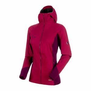 Aenergy IN Hooded Jacket Women - beet/grape/beet