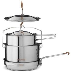 Campfire Cookset - stainless steel large