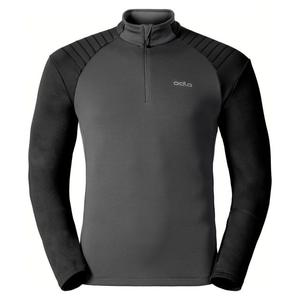 Pact Midlayer 1/2 Zip Pullover - odlo graphite grey - black