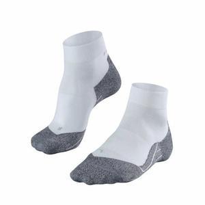 RU4 Light Short Running Socks - white mix