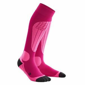 Ski Thermo Socks Women - pink/flash pink