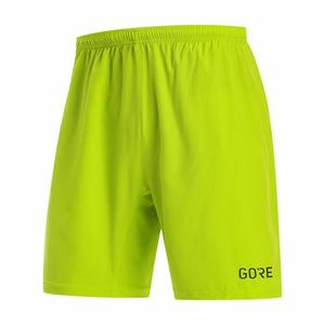 R5 5 Inch Shorts - citrus green