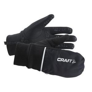 Hybrid Weather Gloves - black