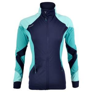 Women's Softshell Jacket Serrone - navy/ocean