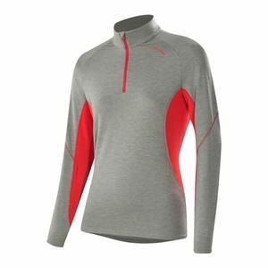 Zip-Sweater Sue Transtex® Women - grey melange