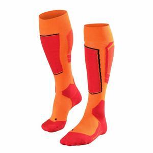 SK4 Skiing Knee High Socks - flash orange