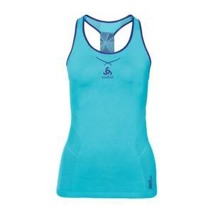Ceramicool Seamless Singlet Women - blue radiance-spectrum blue