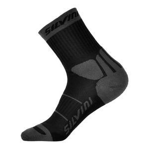 Vallonga Socks - black-charcoal