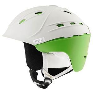 P2US Ski Helmet - white/green mat