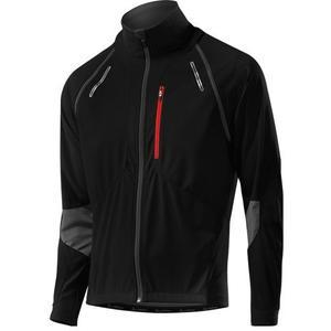 Bike Zip-Off-Jacket San Remo WS Softshell - black