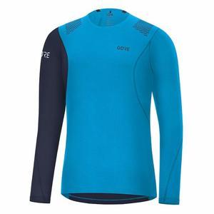 R7 Long Sleeve Shirt - dynamic cyan/orbit blue