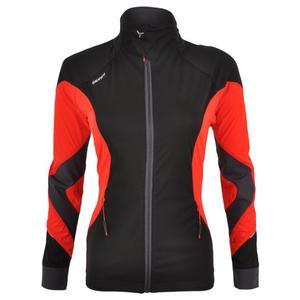 Women's Softshell Jacket Serrone - black/red
