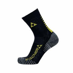 XC Short Socks - black/yellow