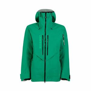 La Liste Hardshell Hooded Jacket - deep emerald