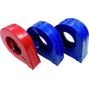 Handabroller Metallgehäuse mit Abschneider für Rollenbreite 50 mm