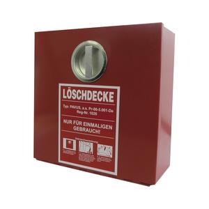 Feuerlöschdeckenbehälter aus verzinktem Stahlblech 305 x 305 x 150 mm