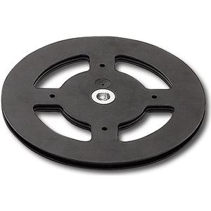 Drehteller Discociak 2 Außen ø 300 mm, Höhe 10 mm, Kunststoff schwarz