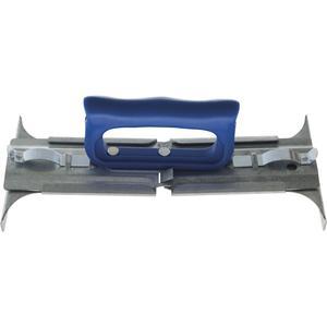 Waschbeton-Plattenheber Stahlblech verstellbar 300 - 500 mm