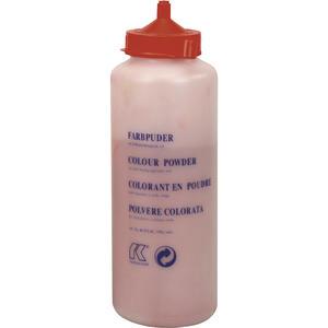 Farbkreide rot in Pulverform 1000 Gramm in Flasche