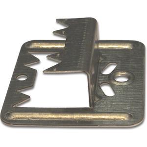 Profilholzkralle Nr. 6 extra stark Stahlband-verzinkt für Nut/Feder-Montage