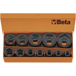 "Kraftsteckschlüssel-Satz 1/2""vierkant DIN3129 10-32 mm 12-teilig"