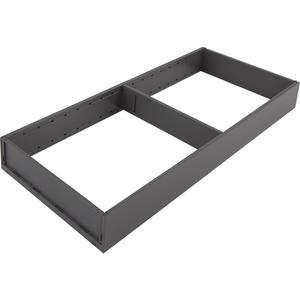 BLUM AMBIA-LINE Schubkastenrahmen breit, NL500mm, Stahl oriongrau matt