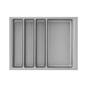 Besteckeinsatz Scoop II 366 x 59 x 474 mm, KB 450 mm, KS silberfarbig
