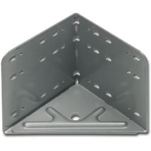 Bettwinkel STANDARD, 115 x 133 x 115 mm, Stahl silbergrau