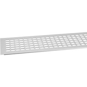 Lüftungsgitter Aluminium natur eloxiert 100X800 mm SB-1