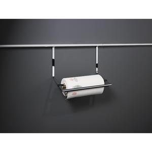 Papierrollenhalter für Küchenrollen, 352x260x150 mm, Edelstahl Effekt