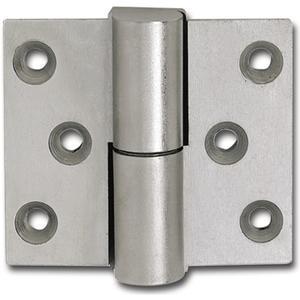 Zylinderband f. stumpfe Türen, links, Höhe 60 mm, SCH 27-23, vernickelt