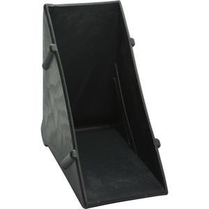 Kantenschutzecke geschlossen schwarz 8 x 50 mm