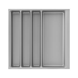 Besteckeinsatz Scoop II 466 x 59 x 474 mm, KB 550 mm, KS silberfarbig