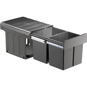 Profiline Double-Master 40 DT Einbau-Abfallsammler, 2 x 16 Liter