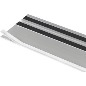 Splitterschutz FS-SP 5000/T transparent Länge 5000 mm