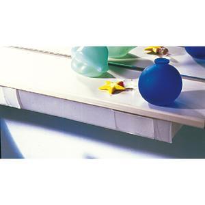 Schwenkschale Swing, Breite 300 mm, Höhe 17 mm, Kunststoff transparent