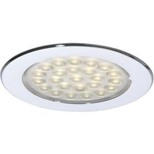 LED Leuchte Metris 1, 6W 12 V/DC, warmweiß, Chrom
