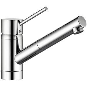 SOLIDO Küchenarmatur Scope mit ausziehbarem Auslauf druckfest, Chrom